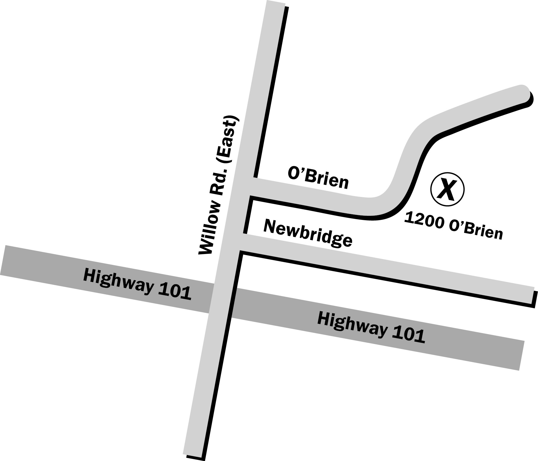 Menlo Park Site Map